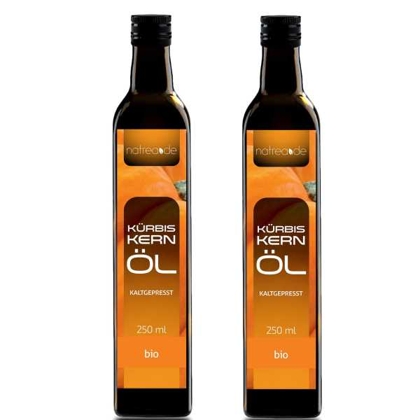 BIO-Kürbiskernöl, kaltgepresst - 500 ml