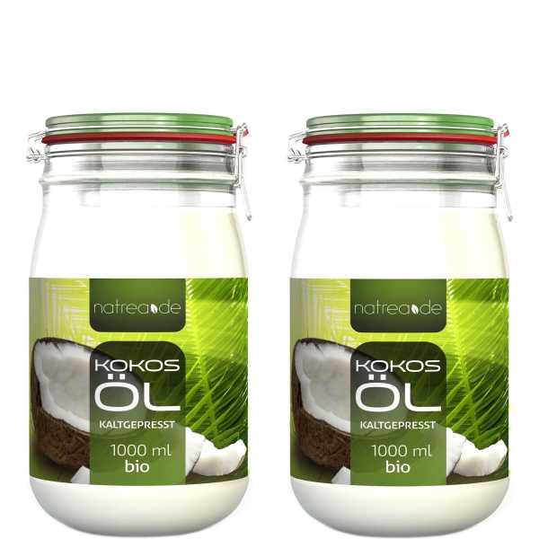 BIO-Kokosöl, kaltgepresst - 2 Liter