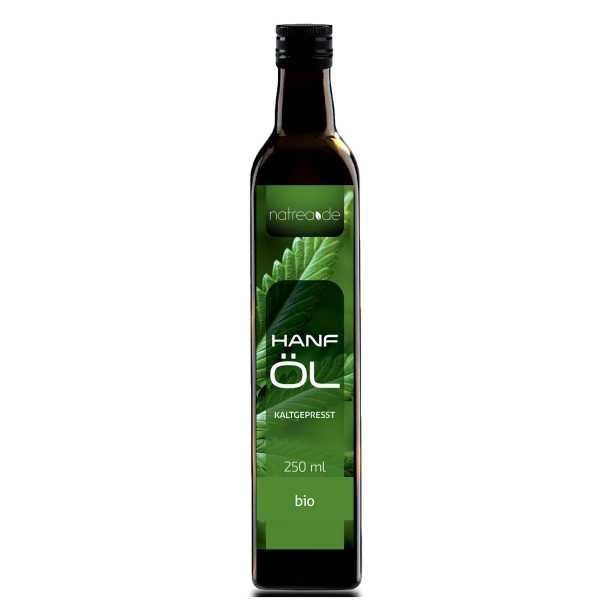 BIO-Hanföl, kaltgepresst - 250 ml