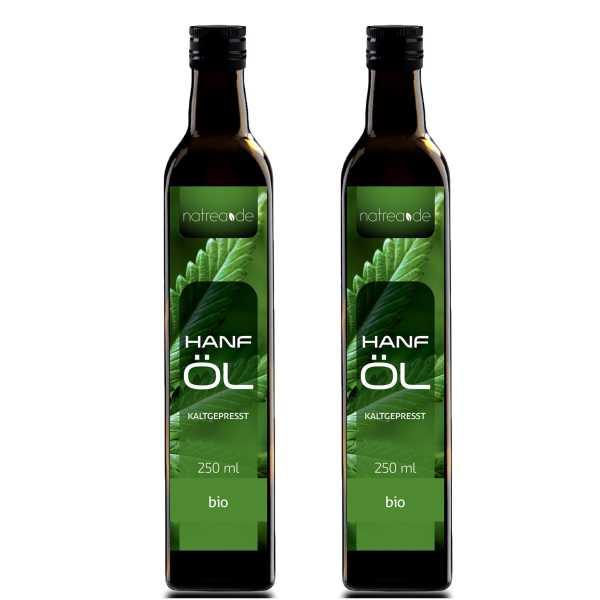 BIO-Hanföl, kaltgepresst - 500 ml