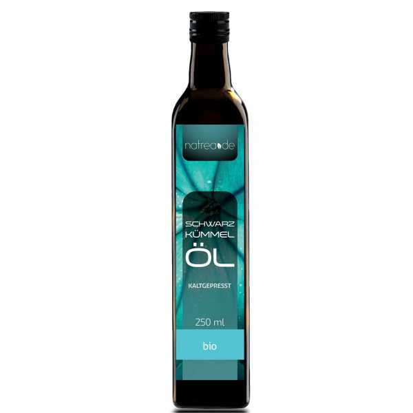 BIO-Schwarzkümmelöl, gefiltert - 250 ml