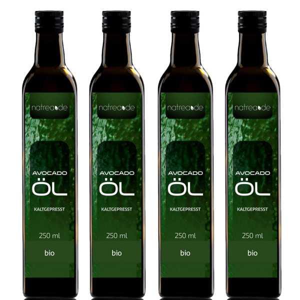 BIO-Avocadoöl, kaltgepresst - 1 Liter