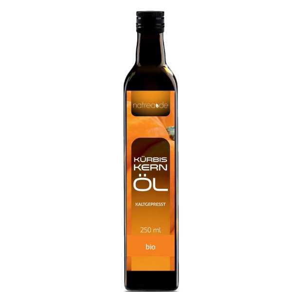 BIO-Kürbiskernöl, kaltgepresst - 250 ml