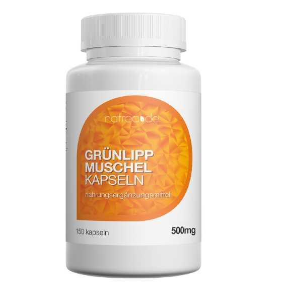 Grünlippmuschel Kapseln, 150 Stück, Dose a 90 g (1 x 150 Kapseln)