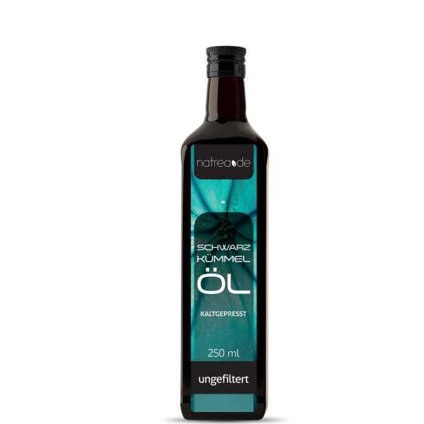 Schwarzkümmelöl, ungefiltert - 250 ml