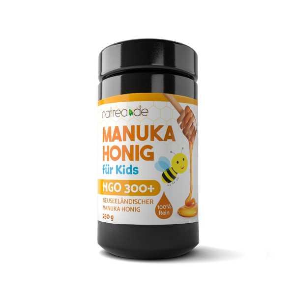 Manuka Honig, MGO 300+, 1er Pack (250 g) für Kids