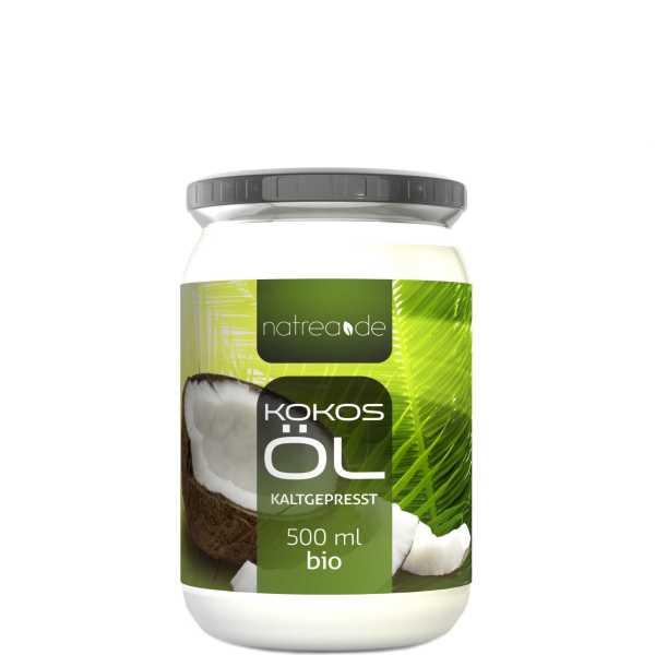 BIO-Kokosöl, kaltgepresst - 500 ml