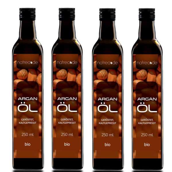 BIO-Arganöl geröstet, kaltgepresst - 1 Liter