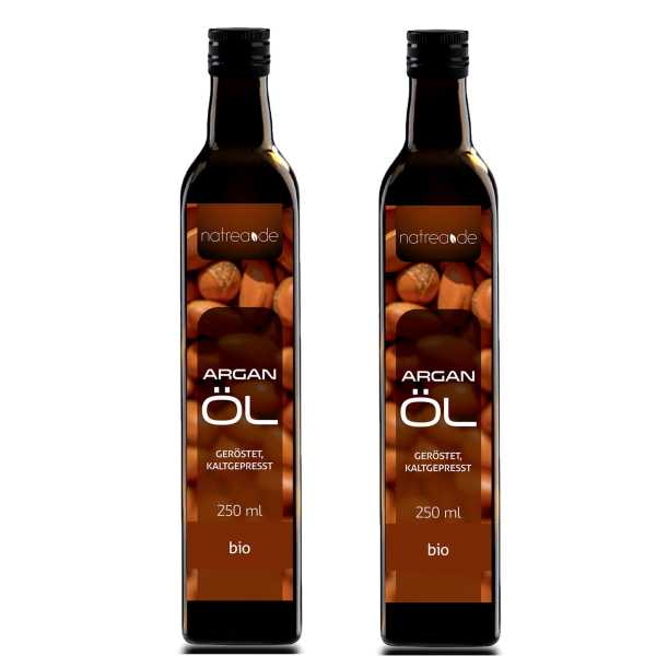 BIO-Arganöl geröstet, kaltgepresst - 500 ml