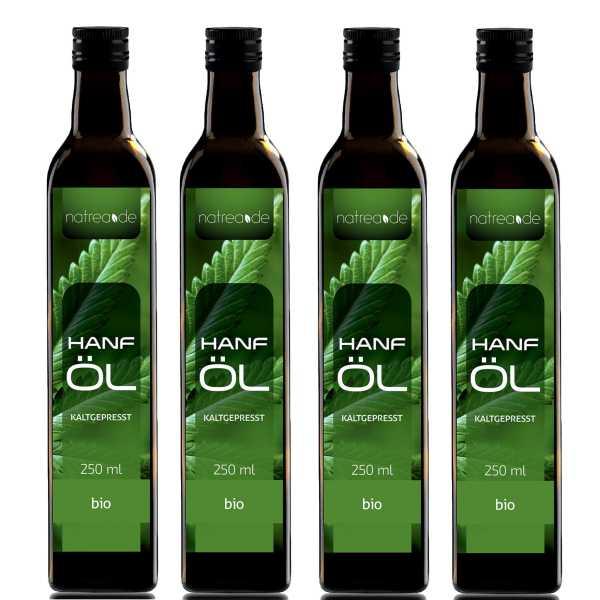 BIO-Hanföl, kaltgepresst - 1 Liter